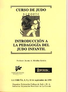 Introducción a la pedagogía del judo infantil (1995)